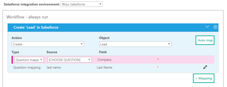 Mapping Fields To Salesforce - Wizu on training mapping, informatica mapping, twitter mapping,