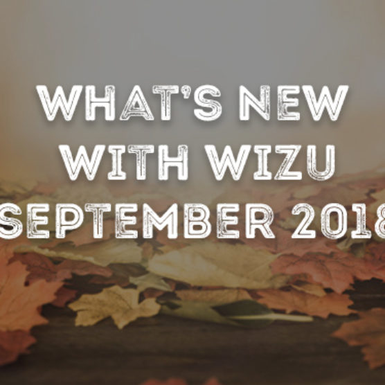 What's New With Wizu - September 2018