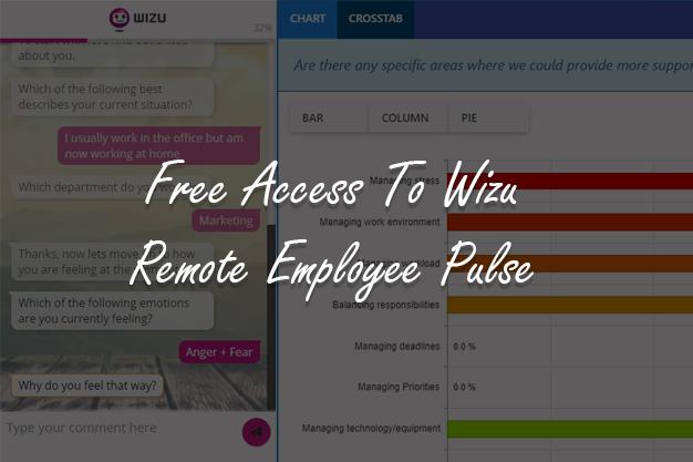 Free Access to Wizu Remote Employee Pulse